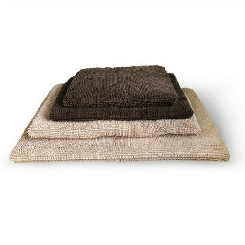 Soggy Doggy MicroFiber Chenille Crate Mate Pad Travel Dog Bed Stack