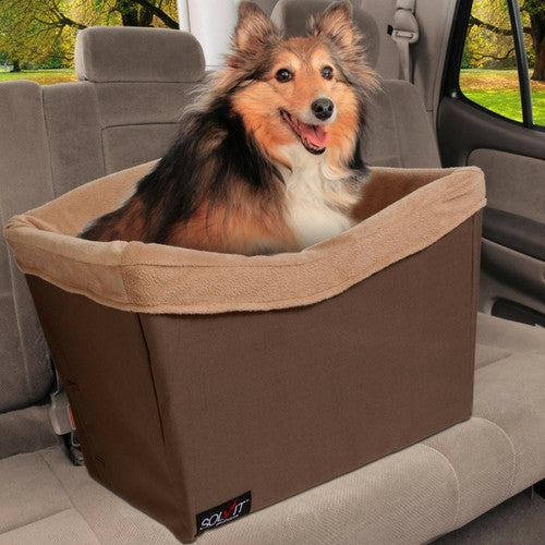 SOLVIT Standard Pet Dog Car Safety Travel Seat 62349 with Dog