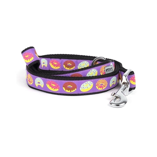 The Worthy Dog Donut Ribbon Nylon Dog Lead