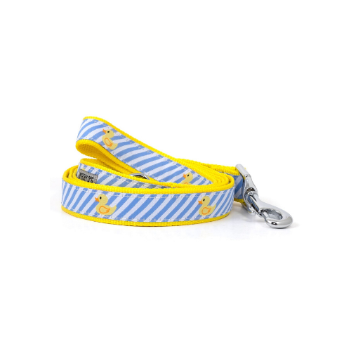 The Worthy Dog Rubber Duck Ribbon Nylon Webbing Matching Lead