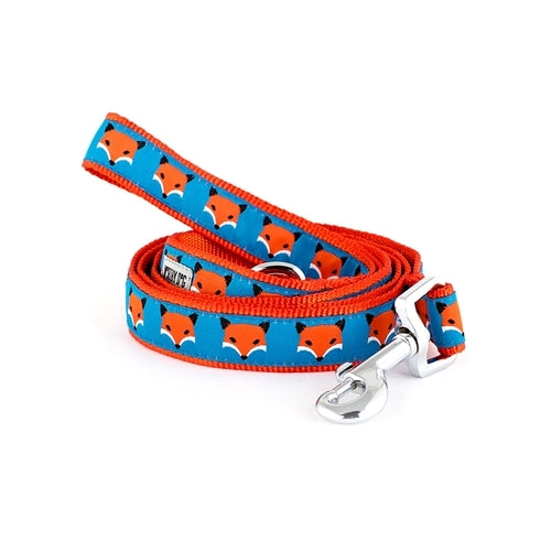 The Worthy Dog Foxy Ribbon Nylon Dog Lead