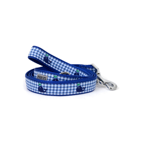 The Worthy Dog Whales Ribbon Nylon Webbing Lead