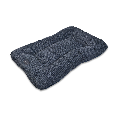 West Paw Heyday Dog Bed Crate Pad — Midnight Heather