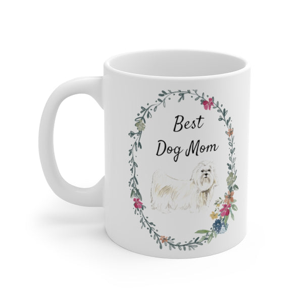Best Dog Mom Mug — Maltese