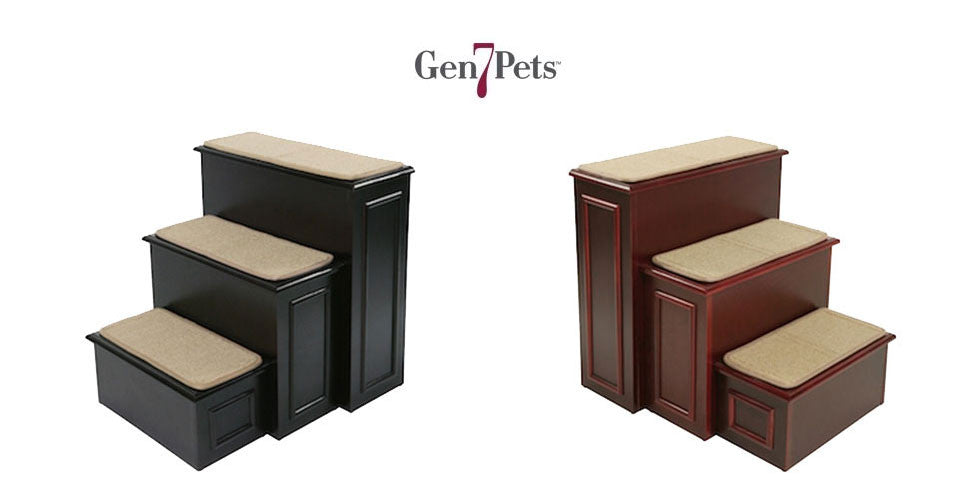 Gen7Pets Deluxe Wood Pet Steps
