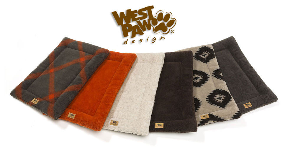 West Paw Design Montana Nap Flat Dog Bed