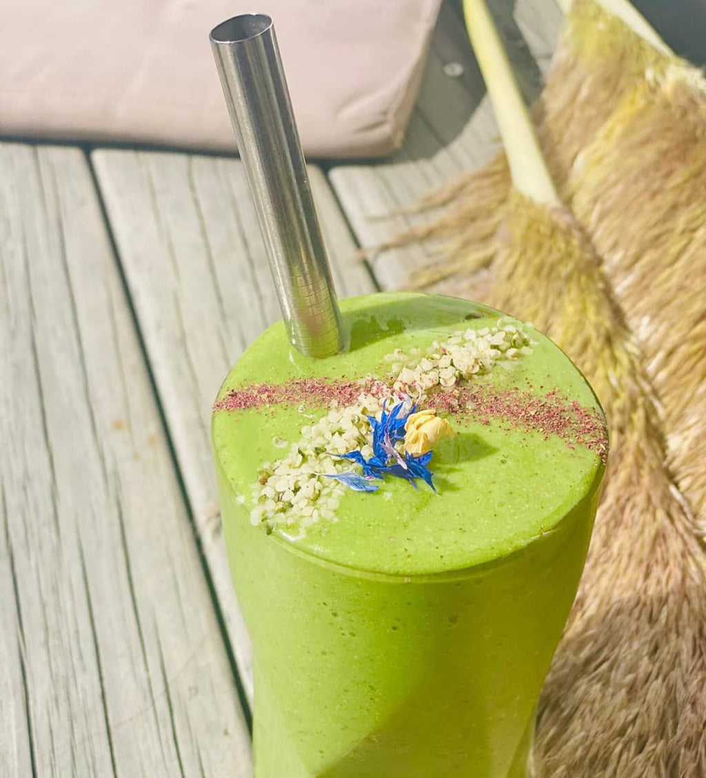 Vitality Organics Goodness Greens Smoothie Essential Greens Wheatgrass Barley grass