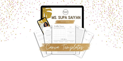 canva planner package