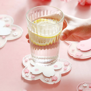 Sakura Coasters Set 2pcs - Momo Babe