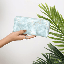 Load image into Gallery viewer, Glossy Marble Wallet - Momo Babe