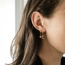 Load image into Gallery viewer, Star and Moon Earrings - Momo Babe
