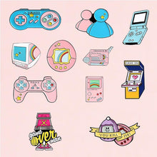 Load image into Gallery viewer, Gamer Girl Pin Collection - Momo Babe