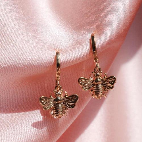 Bee Drop Earrings - Momo Babe