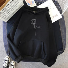 Load image into Gallery viewer, Loose Rose Hoodie - Momo Babe
