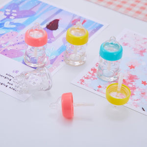 Milk Bottle DIY Lip Gloss Containers 5 pcs - Momo Babe