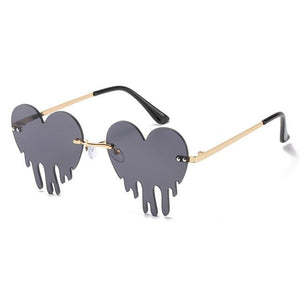 Melting Heart Sunglasses - Momo Babe