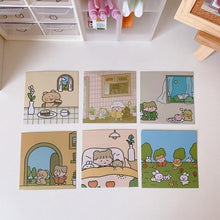 Load image into Gallery viewer, kawaii Bears Stationery Prints Set
