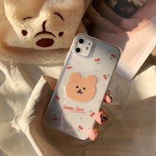 Load image into Gallery viewer, Cherry Bear iPhone case