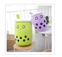 Load image into Gallery viewer, Sweet Matcha and Taro Boba Plush