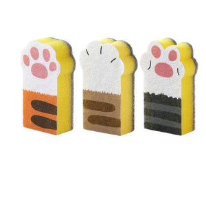 Paw Dish Washing Sponge Set