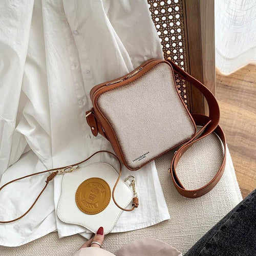 Toast and Egg Crossbody Bag - Momo Babe