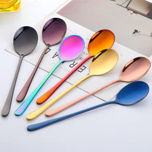 Load image into Gallery viewer, Holographic Stainless Steel Mixing Tea Spoon - Momo Babe
