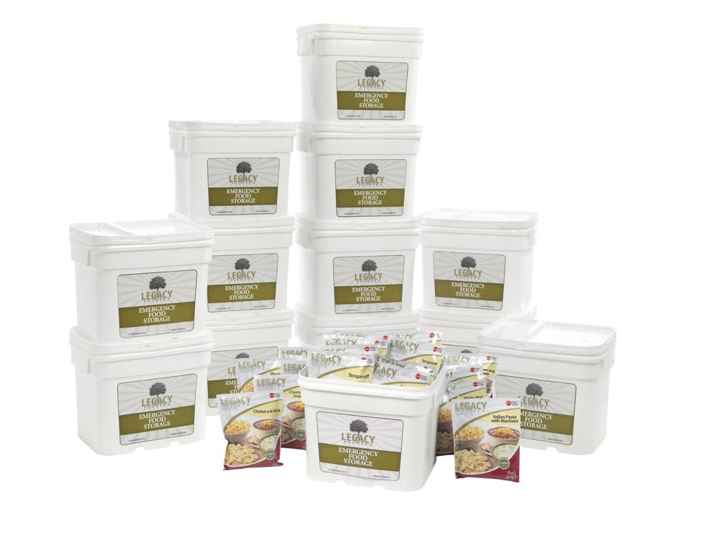 Legacy Food Storage 1440 Servings of Freeze Dried Survival Food