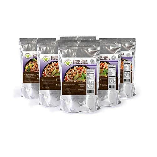 Legacy Food Storage Freeze Dried Chicken Dices Six Pack