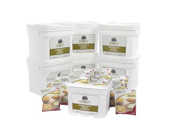 Legacy Food Storage 720 Servings of Freeze Dried Survival Food