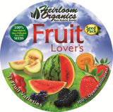Heirloom Organics Fruit Lover's Seed Pack