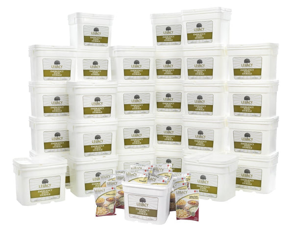 Legacy Food Storage 4320 Servings of Freeze Dried Survival Food