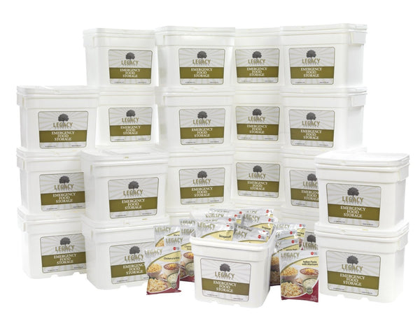Legacy Food Storage 2880 Servings of Freeze Dried Survival Food