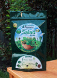 Heirloom Organics non-gmo long term storage salad seed pack