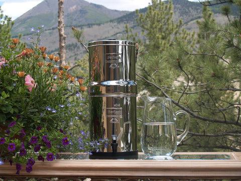 Big Berkey Whole House Water Filter System