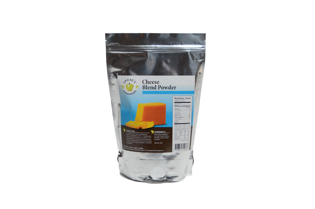 Cheese blend legacy premium freeze dried survival food storage