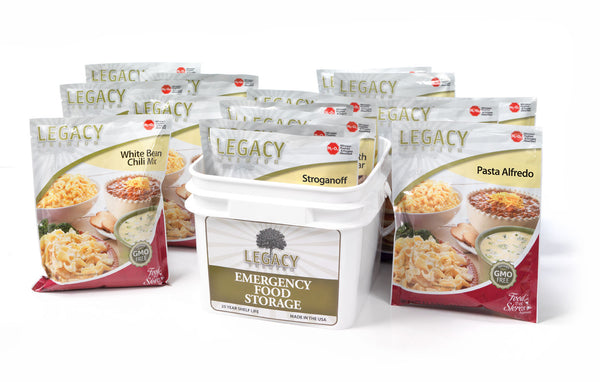 32 Serving Gluten Free 72 Hour Kit by Legacy Food Storage