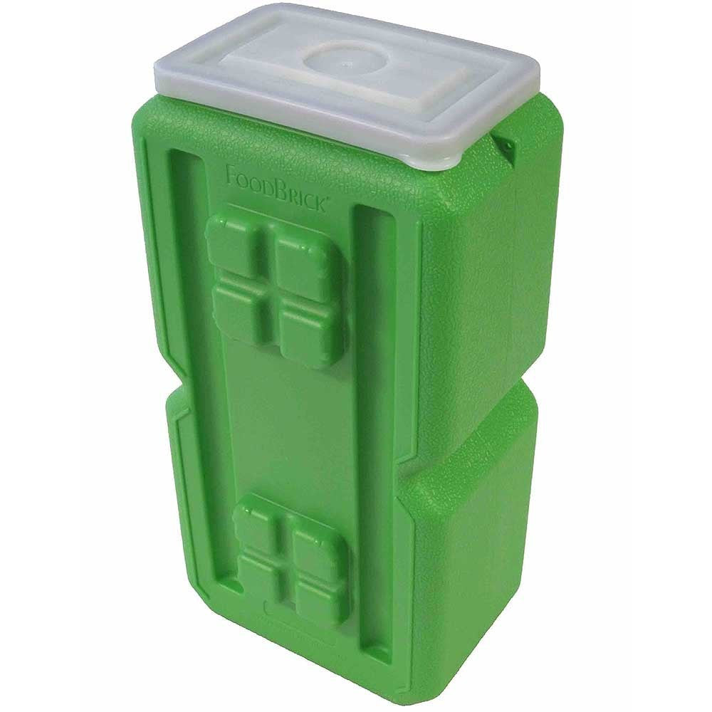 FoodBrick International Food Storage Containers BPA Free stackable and portable