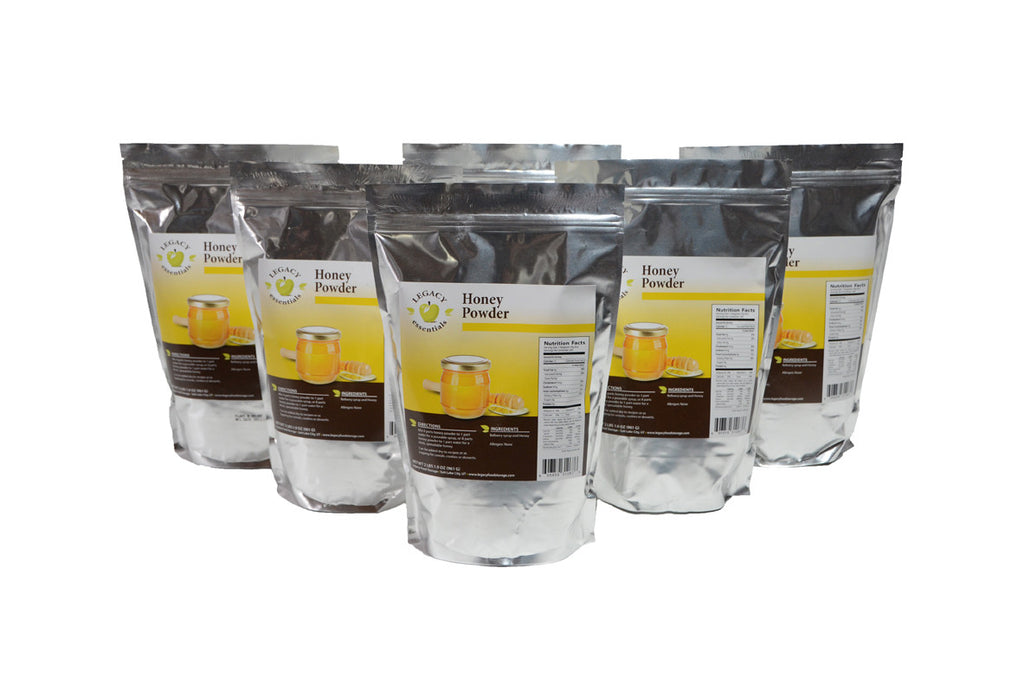 Honey Pouch six pack legacy premium freeze dried survival food storage