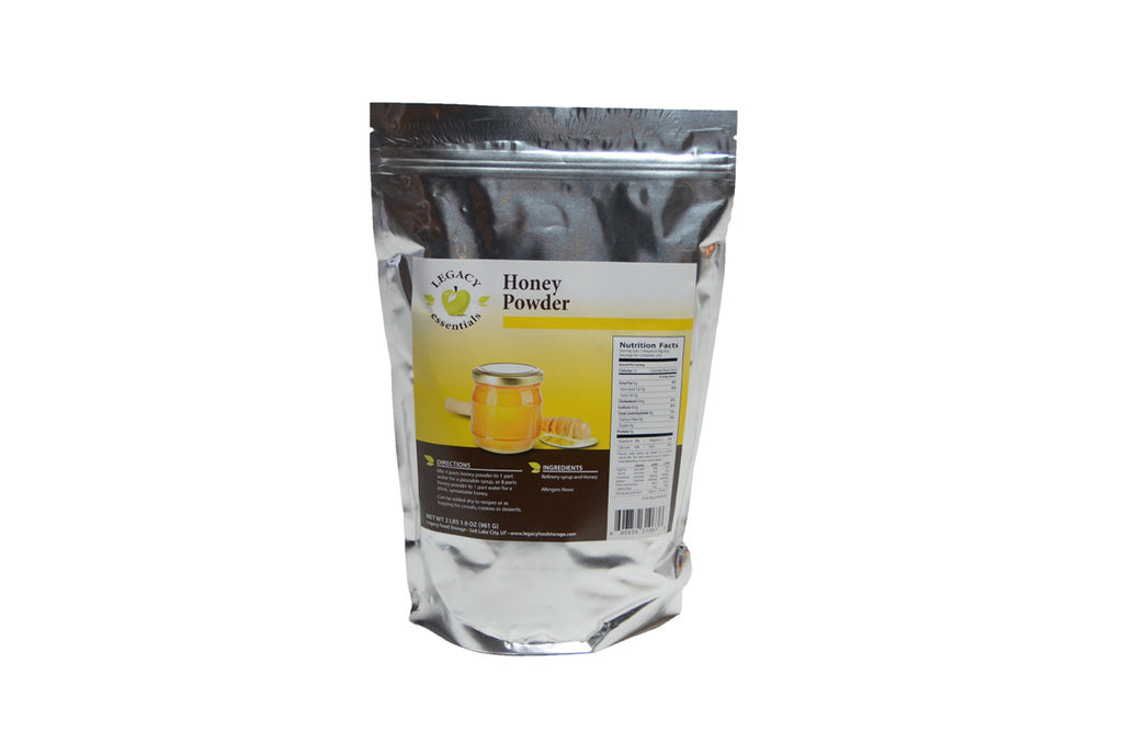 Honey Pouch legacy premium freeze dried survival food storage
