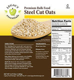 Legacy Premium freeze dried steel cut oats emergency survival food storage