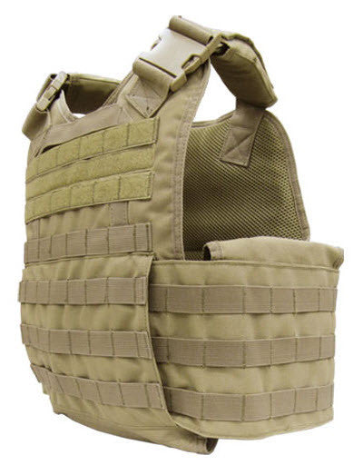 Infidel Body Armor Viper Modular Plate Carrier + 2 Level III Armor Plates Green