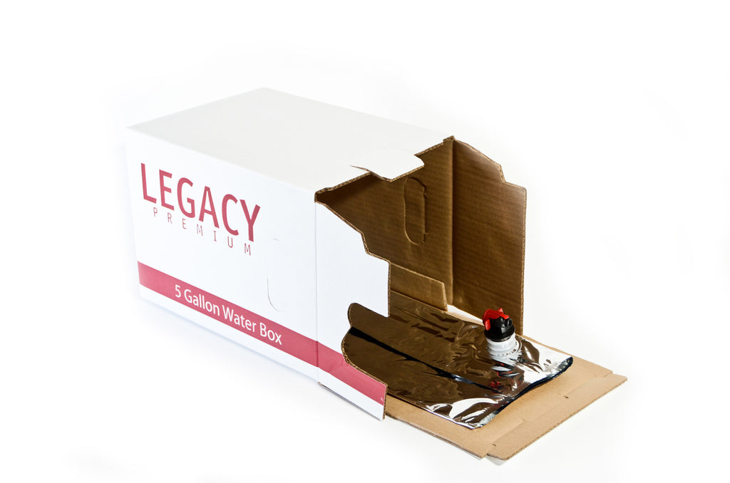 Water Storage Box by Legacy Premium open