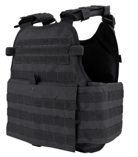 Infidel Body Armor Viper Modular Plate Carrier + 2 Level III Armor Plates