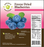 Freeze Dried Bluberries Legacy Premium Nutrition Facts