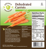 Legacy Premium freeze dried Carrots emergency survival food storage