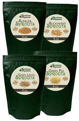 3-Day Food Independence Sprout Pack