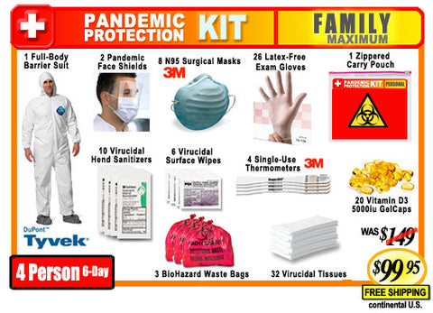 Family Pandemic Protection Kit
