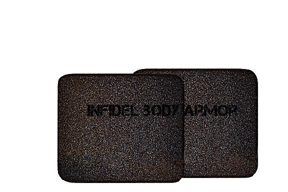 "Side Armor 6"" x 6"" Level III side plates (set of 2)"