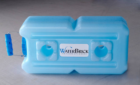 WaterBrick International Water Storage Containers BPA Free stackable and portable