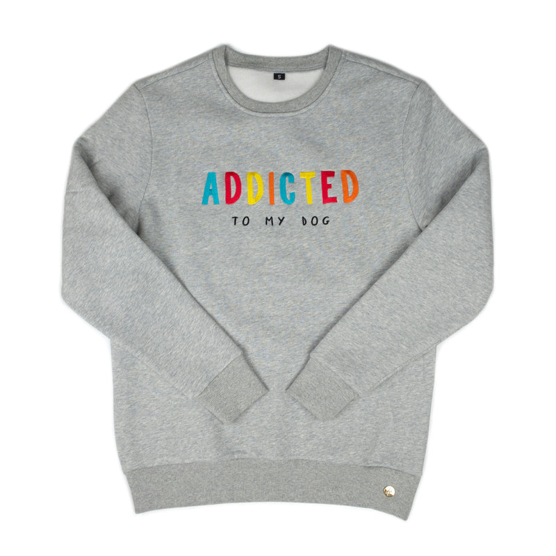Sweatshirt - Dog Addict